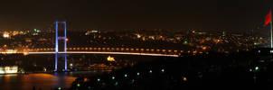 Bogazici Koprusu Panorama by thenoiseless