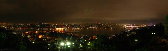 Ulus Bogazici wide Panorama by thenoiseless
