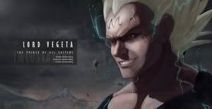 Prince Vegeta // Anime Realism by imcostalong