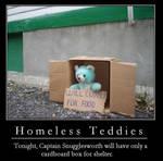 Demotivation - Homeless Teddy