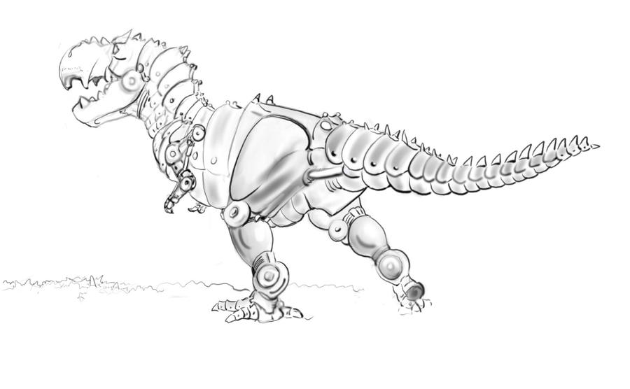 green grimlock coloring pages - photo#45
