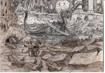 CaveDragonKathulonParallax02