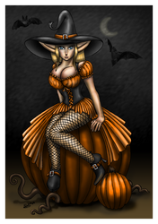 Halloween Tinuvielle by amuletts