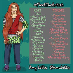 Meet The Artist by amuletts