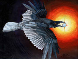 Raven Spirit by amuletts