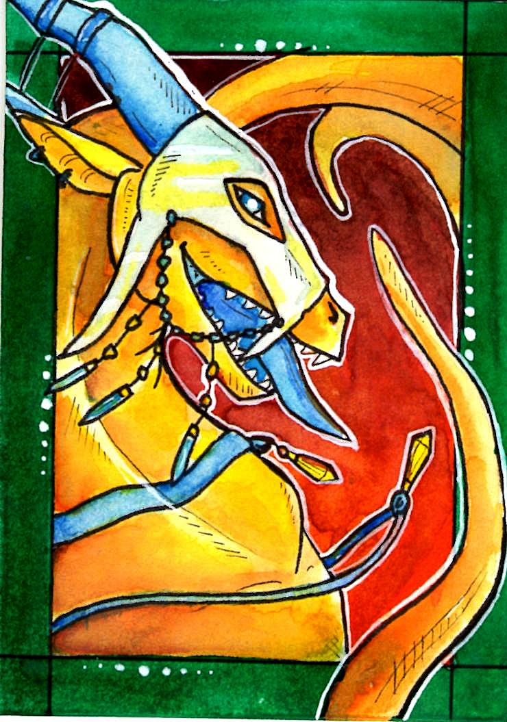 ACEO Sybila by Paulinesa