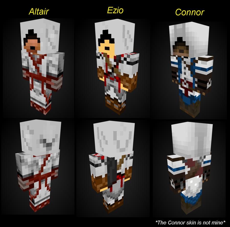 Assassins Craft Minecraft Textures And Skins The Colorless - Assassin skins fur minecraft