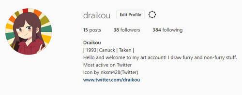 Instagram by Draikou