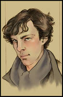 Sherlock by absynthia