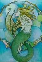Mermaid by absynthia