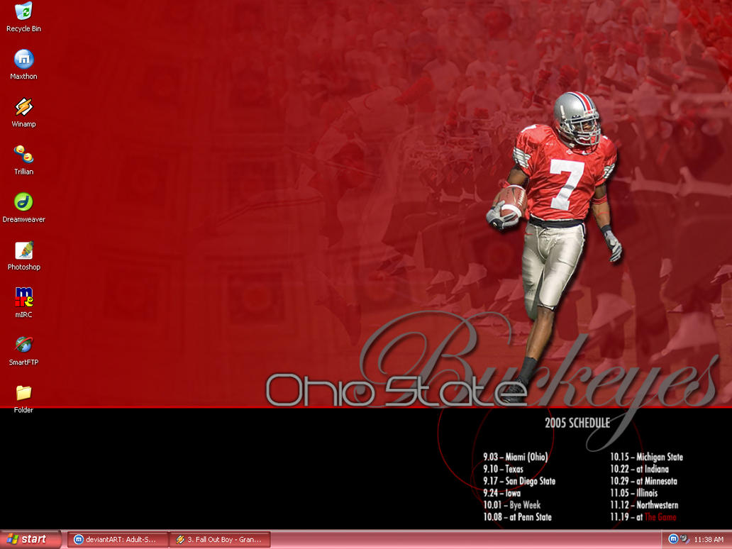 Ohio State Theme Desktop by Adult-Swim-Fan