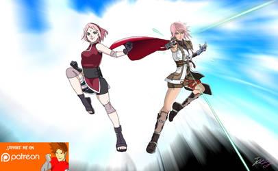 Worlds Collide: Sakura X Lightning