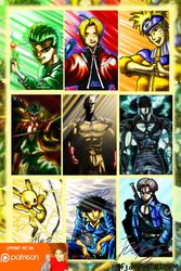 Anime Legends Complete Set 1