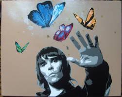 ian brown'Catchin butterflies' by 10baron10