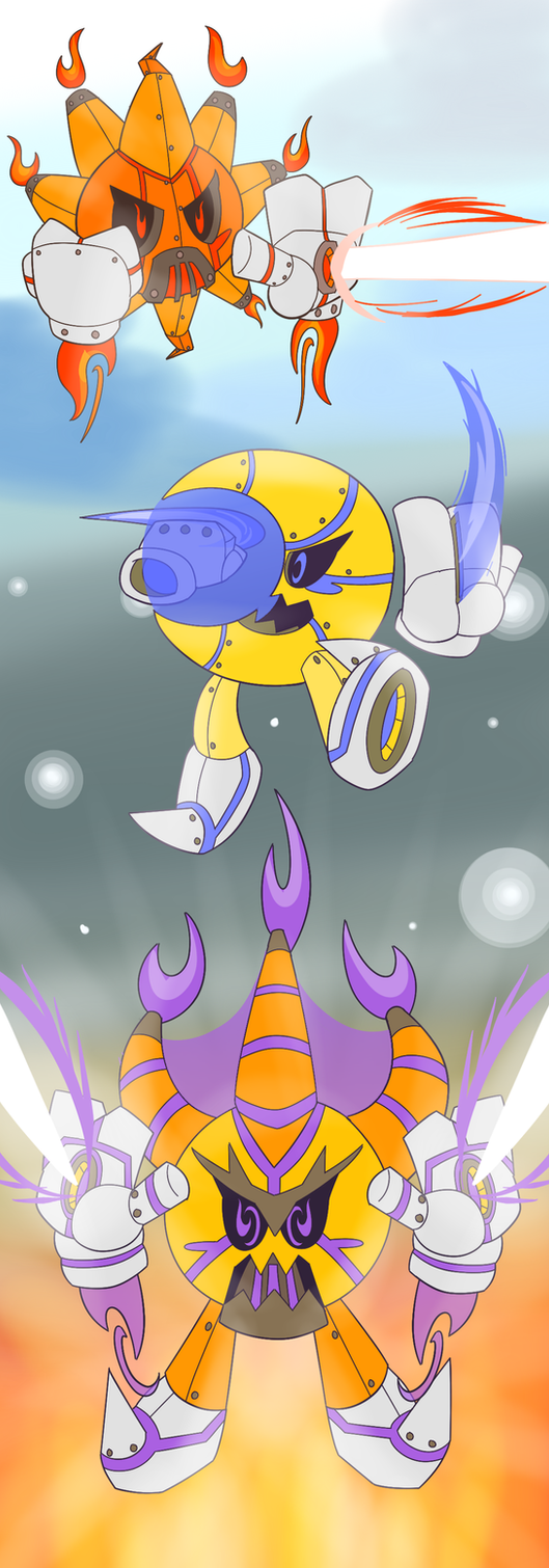 Robo Shine and Bright by PurpleChickenPi