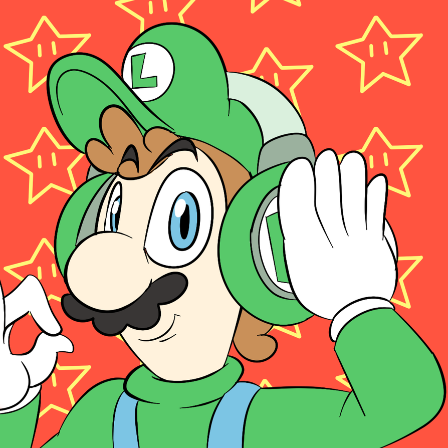 Luigi Beats by PurpleChickenPi
