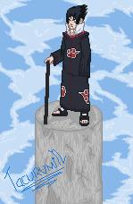Sasuke in the clouds by tacurumin