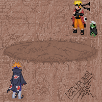 Naruto VS Pein by tacurumin