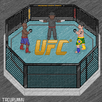 UFC Octagon by tacurumin