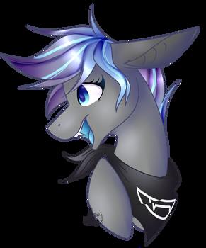 Blue Horse Eyes [Commission]