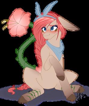 A Blushing Flower [OC]