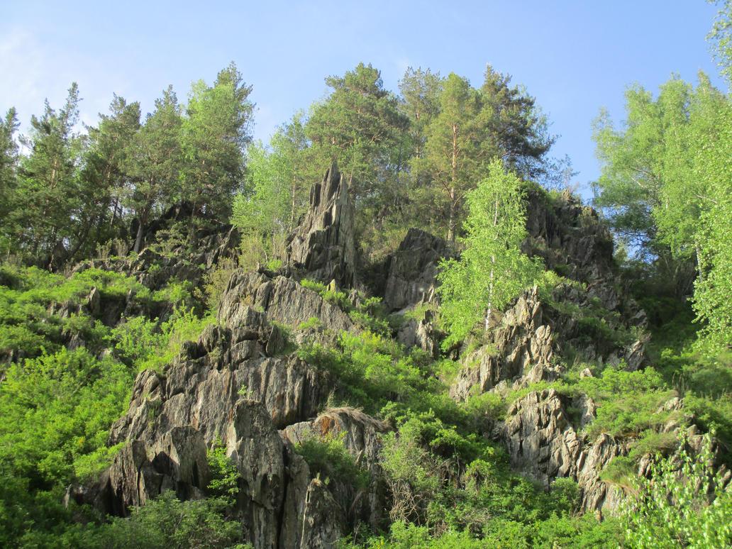 rocks by Teonanakatle