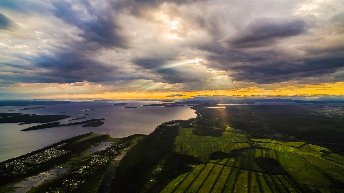 Landscape HDR 01 by Teonanakatle