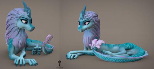 Sisu the Dragon (free 3D model download)