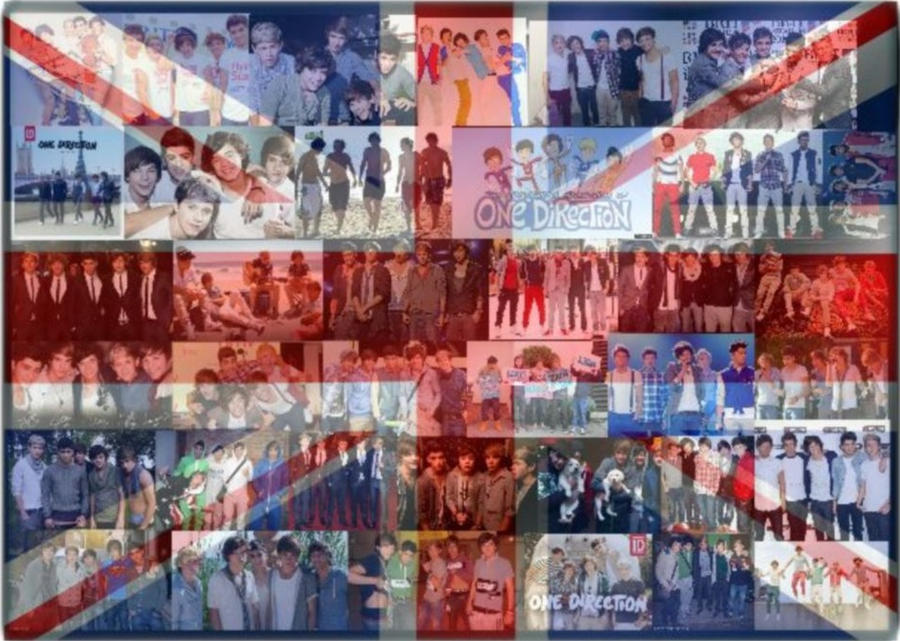 One Direction Flag Poster By Jules2845