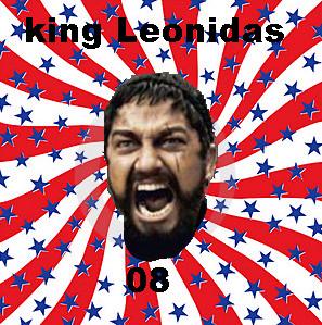 King Leonidas by candidusdominusrex