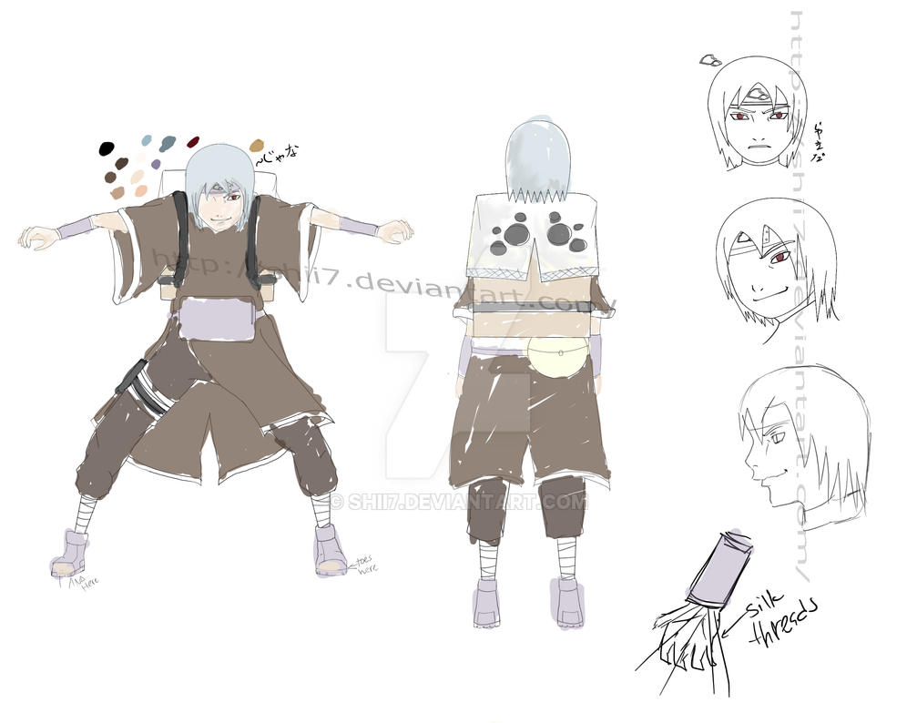 Naruto OC Silk threading clan by Shii7