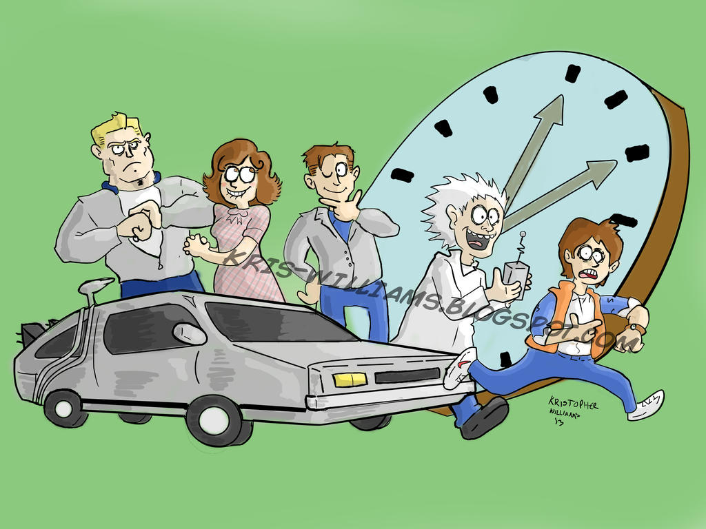 Great Scott! (88 miles per hour) by SeltzerWaterfalls on DeviantArt