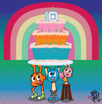 The Amazing World of Gumball's 10th Anniversary!!!
