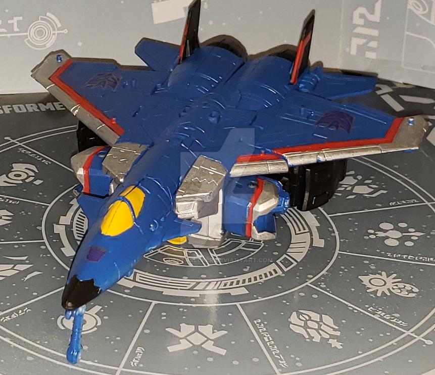 Thundercracker Jet mode by DeltaSeeker