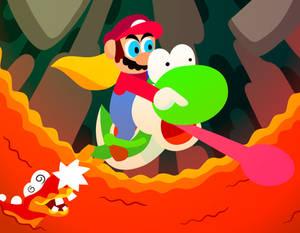 Super Mario World Raft Skip