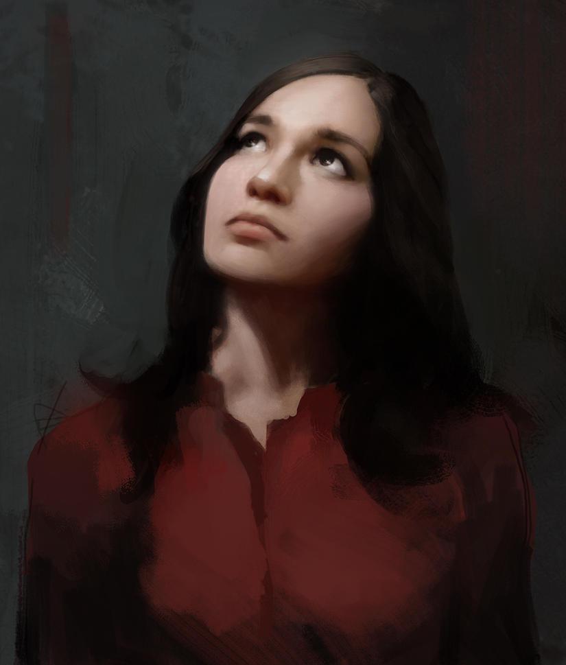 Portrait by martianzombie