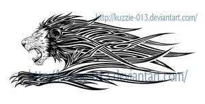 Lion Tattoo by kuzzie-013