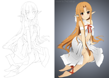 Asuna [Very Small] by Thecoldtrojan