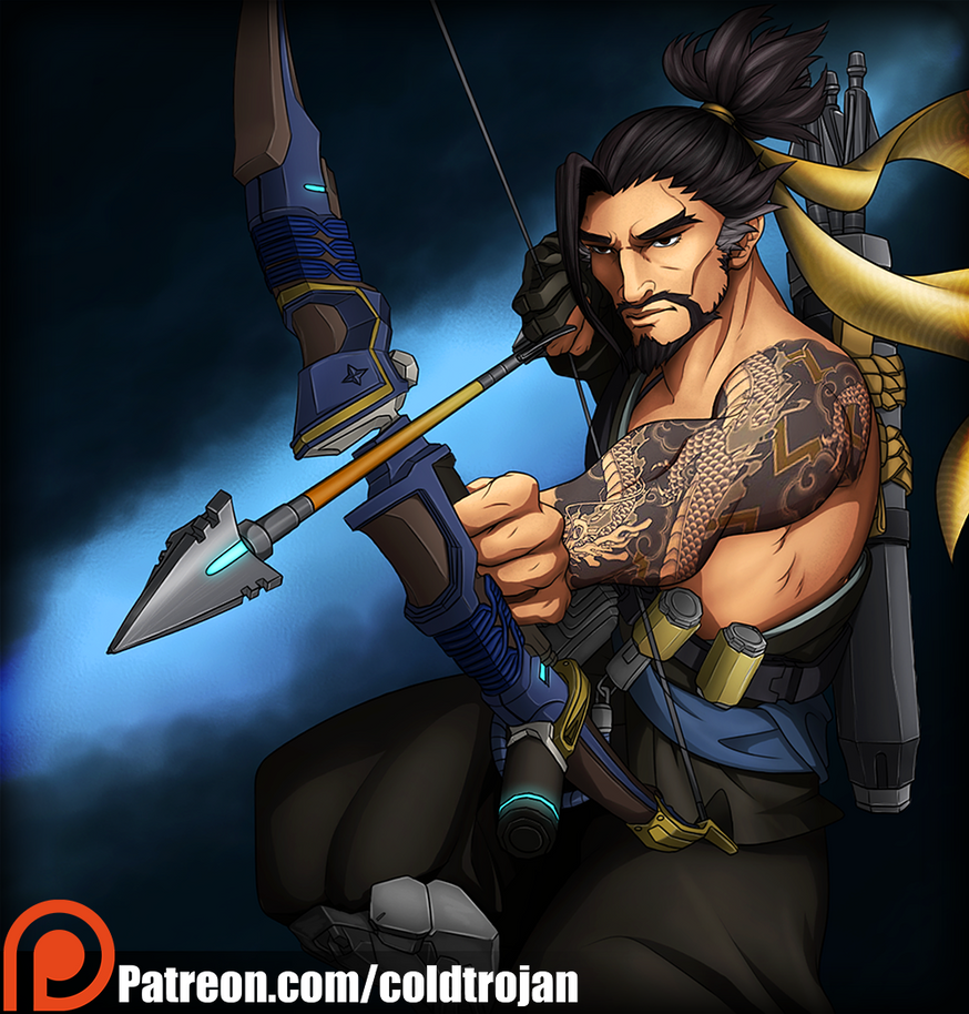 Hanzo Wallpaper: Hanzo Shimada [Small] By Thecoldtrojan On DeviantArt