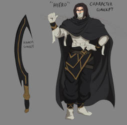 Hiero Character Concept