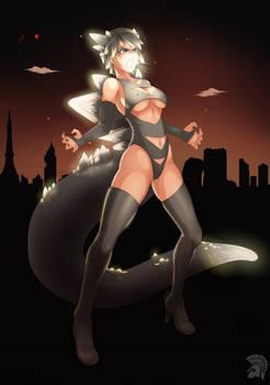 COM: Kaiju girl OC