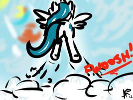 Frost Takeoff by alexsalinasiii