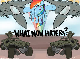What Now Haters by alexsalinasiii