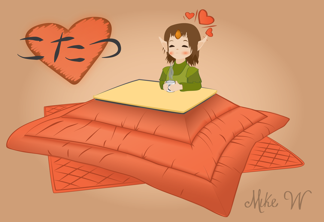 Kotatsu For Print by Eccks