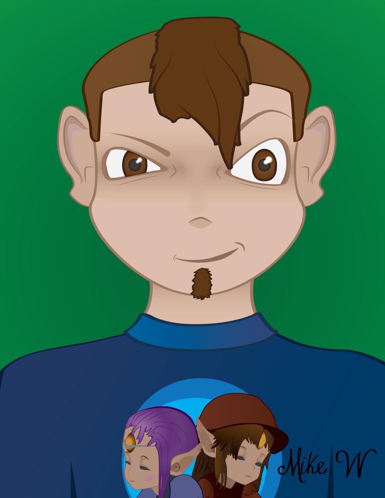 Real Self Portrait by Eccks