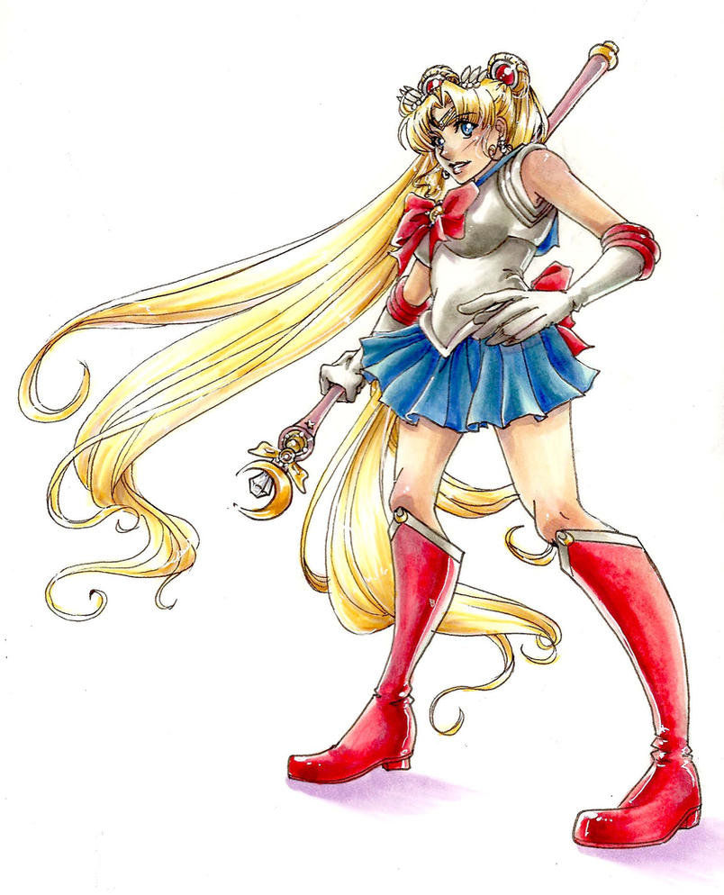 Sailor Moon By Hikaru9 On DeviantArt