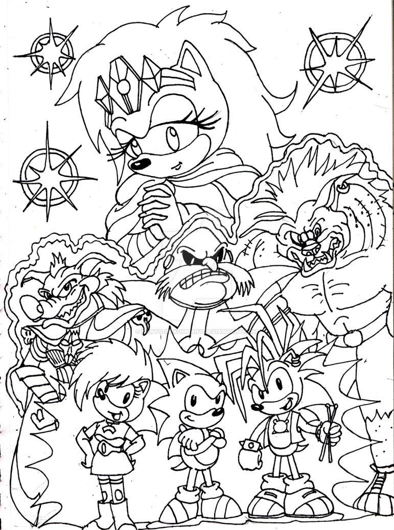Sonic Underground By Kartoon Kompany On Deviantart