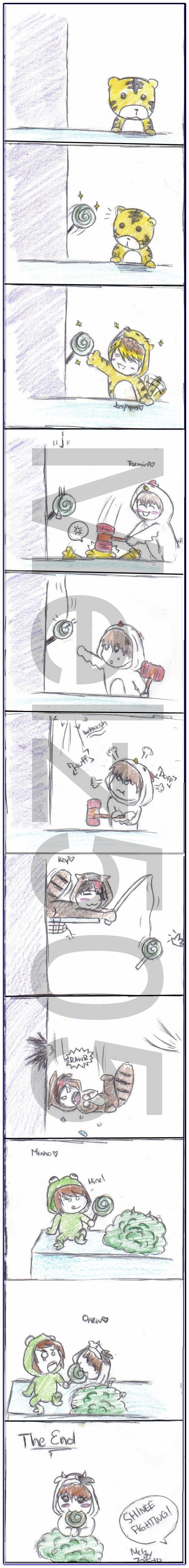 SHINee Mini Comic :D by MelzyV