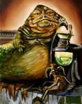 Jabba Desilijic Tiure and Salacious B. Crumb
