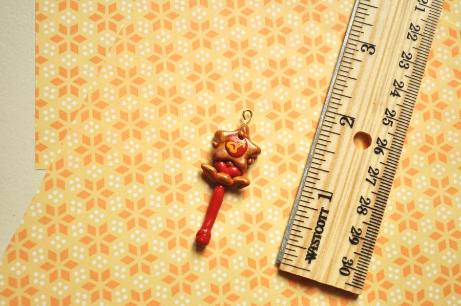 Sailor Mars Henshin Wand Charm by eserenitia